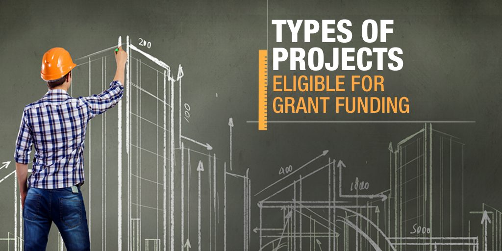 Types of projects eligible for grant funding