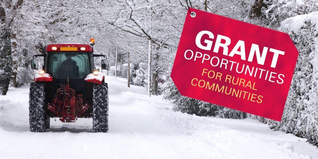 New grant opportunities for rural communities
