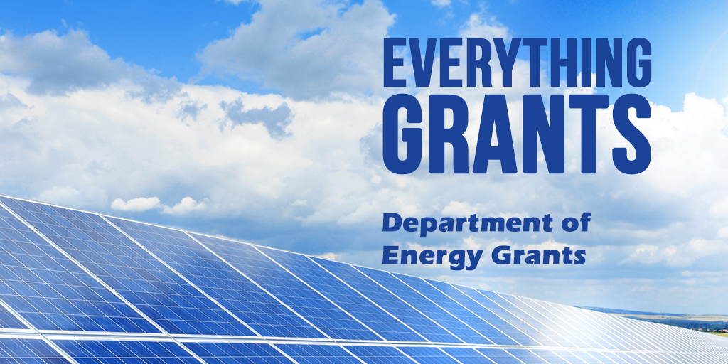 Business Loans And Grants From The Department Of Energy