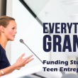 Funding available in 2017 for teen entrepreneurs